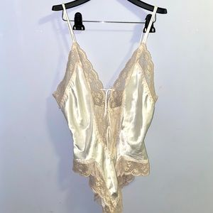 Victoria Secret Silk Bodysuit